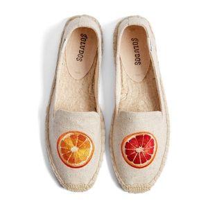 Soludos Oranges Espadrilles Size 9
